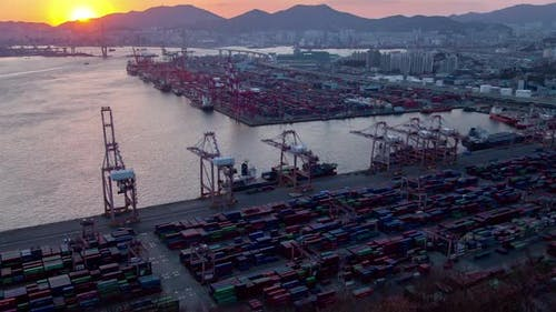 Infrastruktur Transport von Busan, Korea