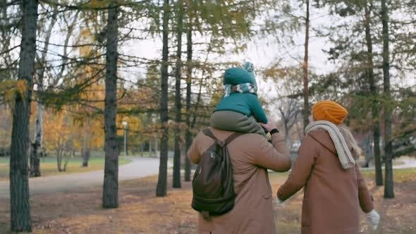 Thumbnail for Walking in Autumn Walk