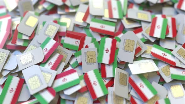 Thumbnail for SIM Cards with Flag of Iran