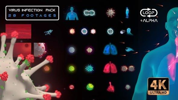 Virus Infection Medical HUD Body Pack