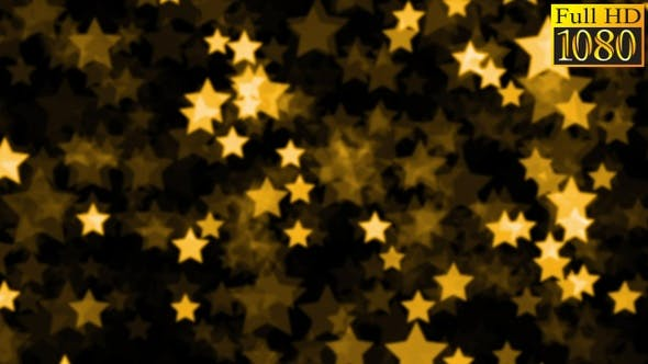 Thumbnail for Bokeh Stars Background Loops Pack V1