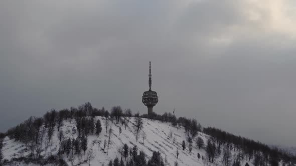 Thumbnail for Aerial View Of The Tv Tower And The City Of Sarajevo