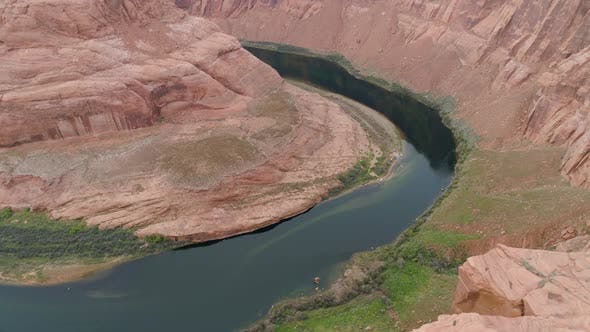 Thumbnail for Aerial view of the Horseshoe Bend