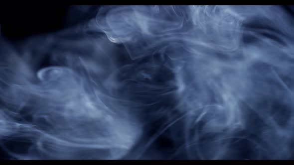 Thin smoke footage - good for titling, intro/outro, compositing, overlays