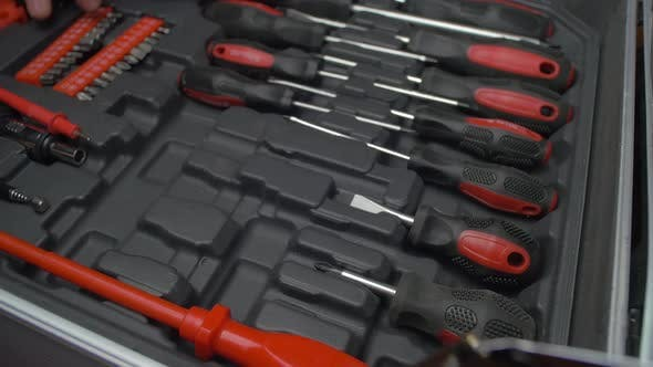 Thumbnail for Tools in a box