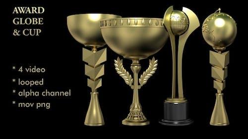 Award Globe & Cup