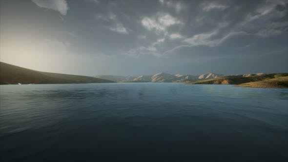 Thumbnail for Beautiful Calm Lake with Sunset