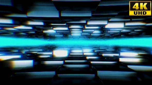 Abstract Cubes Background Vj Loop Pack V1