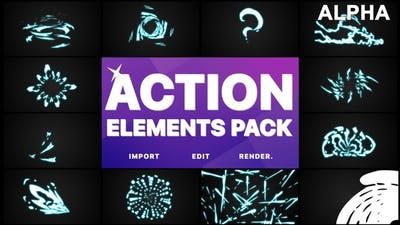 Action Elements | Motion Graphics Pack