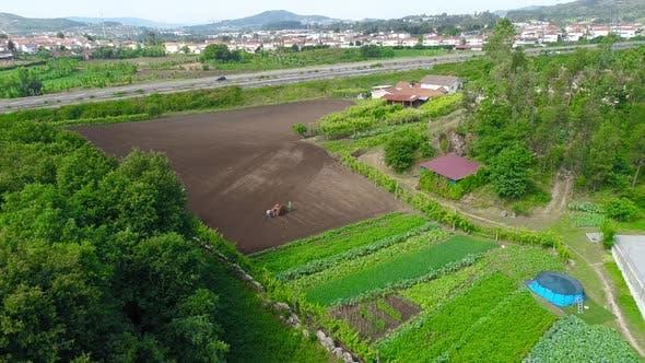 Thumbnail for Farming Aerial View
