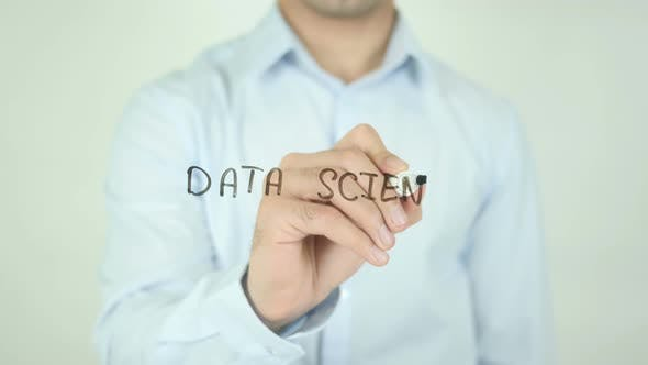 Cover Image for Data Science, Writing On Screen