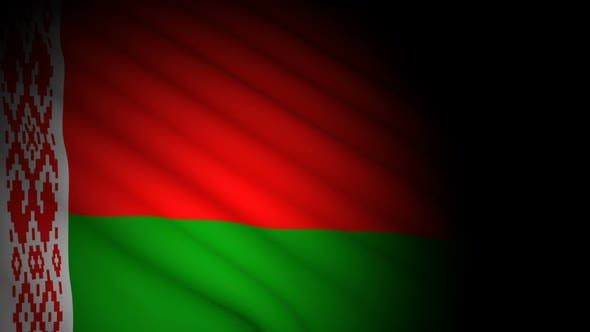 Thumbnail for Belarus Flag Blowing in Wind