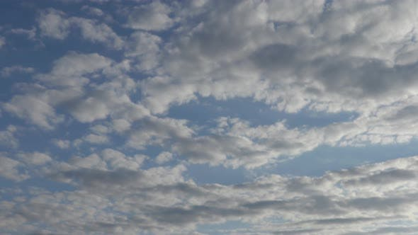 Thumbnail for Clouds Are Moving Against the Blue Sky