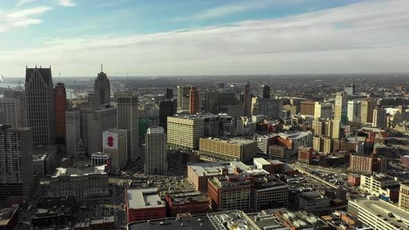 Travel destination Detroit Michigan USA