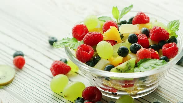 Thumbnail for Bowl with Berries and Fruit