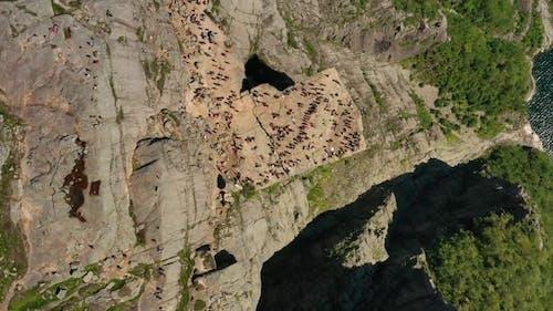 Pulpit Rock Preikestolen Nature Norway