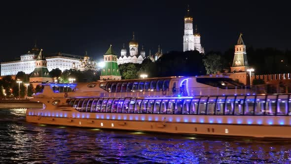 Thumbnail for Night View of Moscow Kremlin