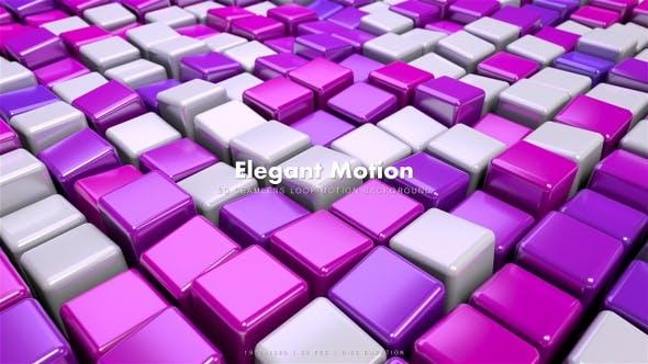 Thumbnail for Elegant Cubes Motion 6