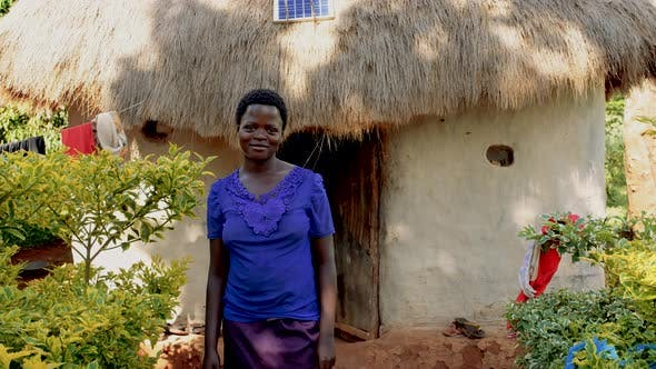 Thumbnail for Portrait of Smiling African Woman