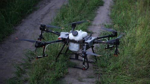 Takeoff Agro Copter