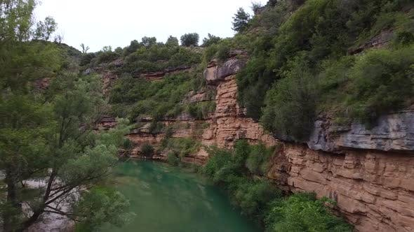 Thumbnail for Alcanadre River Aerial View, Spain