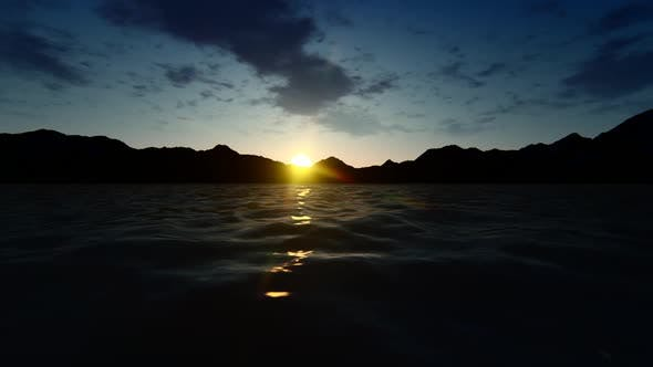 Thumbnail for Sunset at Sea and Time-lapse Sky