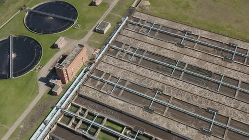 Sewage Treatment Facilities Aeration Water Purification Tanks