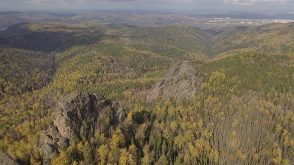 Thumbnail for Aerial View of Beautiful Autumn Landscape