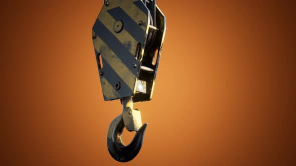 Thumbnail for Old Lifting Metal Crane Hook