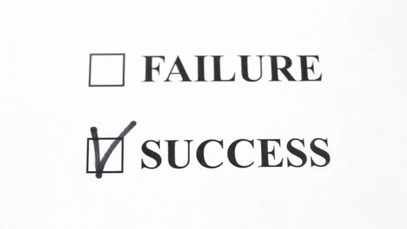 Cover Image for Success And Failure