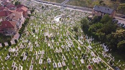 Islamic Cemetary In Sarajevo