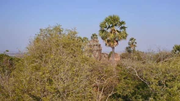 Cambodian Hidden Temple Ruin