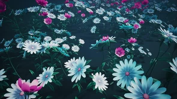 Thumbnail for Flower Field Loop #04 4k