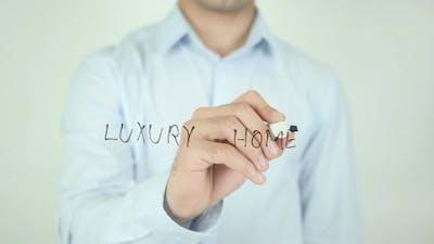 Luxury Homes, Writing On Screen