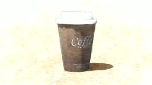 Paper Coffee Cup Stop Motion