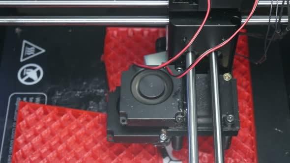 Thumbnail for Modern Technology 3 D Printing Plastic