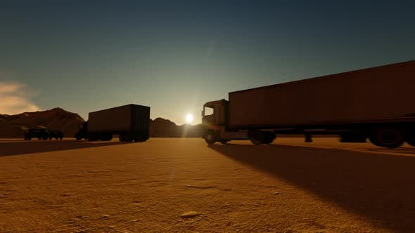 Thumbnail for Off-Road Vehicle Carrying Significant loads and Escorts with the Truck