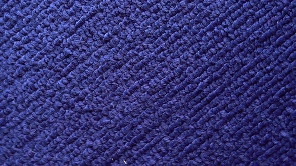 Thumbnail for Makrostruktur von blauen Handtüchern