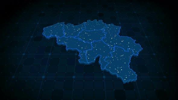 Thumbnail for Belgium Map 4k