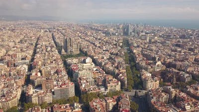 Cityscape of Barcelona