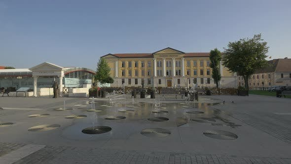 Thumbnail for Springing fountain in Citadel Square, Alba Iulia