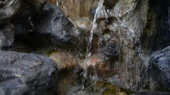 Thumbnail for Waterfall And Rocks Stones