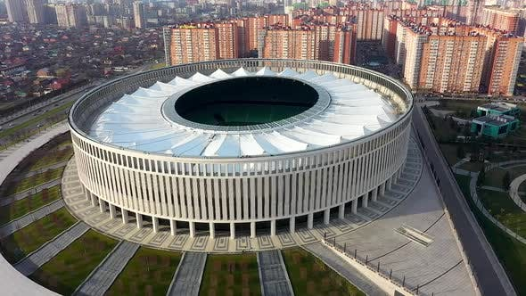 Thumbnail for Aerial Photography of a Football Stadium During the Day