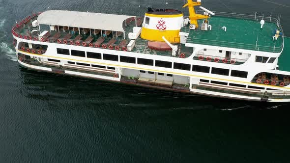 Istanbul City Liner Aerial View