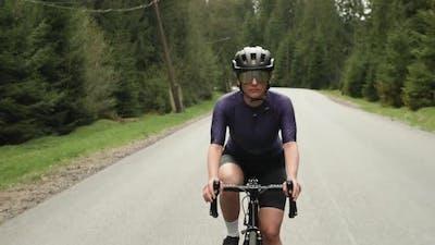 Cycling. Sports. Training. Road Cycling