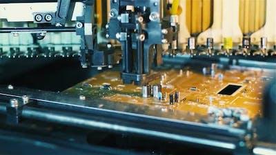 Manufacture of Printed Circuit Boards. Original Audio.