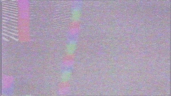 Dynamic TV Glitch Noise Effects