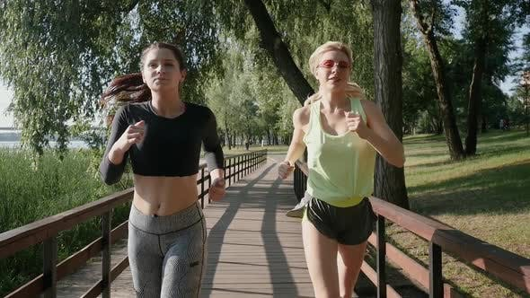 Thumbnail for Two Beautiful Girls on a Run