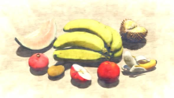 Fruit Varieties Stop Motion