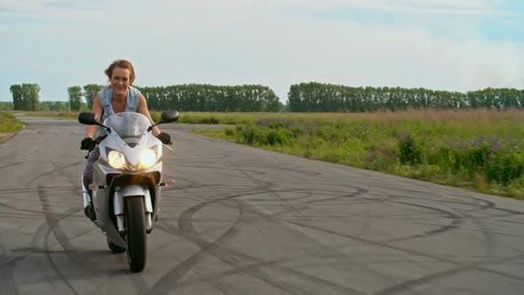 Thumbnail for Biker Girl